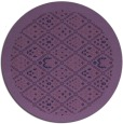rug #1283917 | round damask rug