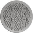rug #1284043 | round red-orange borders rug