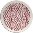 rug #1284051 | round pink borders rug