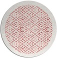 rug #1284059 | round white traditional rug