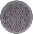rug #1284075 | round purple traditional rug