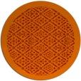 rug #1284083 | round red borders rug