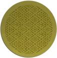 rug #1284159 | round light-green damask rug