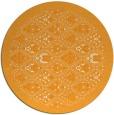 rug #1284179 | round light-orange borders rug