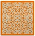rug #1284555 | square orange borders rug