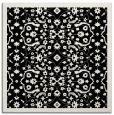 rug #1284559 | square white damask rug