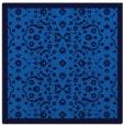 rug #1284587 | square blue traditional rug