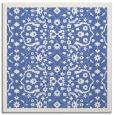 rug #1284603 | square blue damask rug
