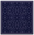 rug #1284639 | square blue-violet damask rug