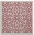 rug #1284679 | square pink damask rug