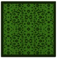 rug #1284699 | square light-green borders rug
