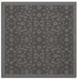 rug #1284711 | square mid-brown borders rug