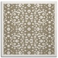rug #1284719 | square mid-brown traditional rug