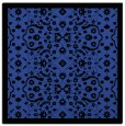 rug #1284759 | square black damask rug