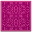 rug #1284783 | square pink damask rug