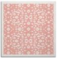 rug #1284795 | square pink damask rug