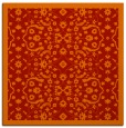 rug #1284819 | square red borders rug