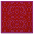 rug #1284827 | square red traditional rug