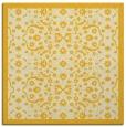 rug #1284875   square yellow borders rug