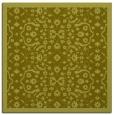 rug #1284895 | square light-green borders rug