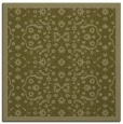 rug #1284907 | square light-green damask rug