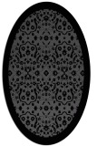 rug #1284932 | oval traditional rug