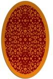 rug #1285138 | oval borders rug