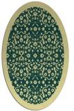rug #1285260 | oval borders rug