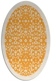 rug #1285287 | oval white borders rug