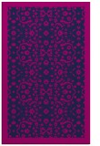 rug #1285327 |  blue borders rug