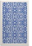 rug #1285339 |  blue damask rug