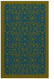 rug #1285367 |  blue-green traditional rug