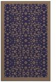 rug #1285395 |  blue-violet traditional rug