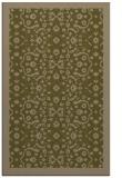 rug #1285403    brown damask rug
