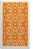 rug #1285507 |  orange damask rug