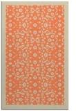 rug #1285511 |  orange damask rug