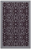 rug #1285547 |  purple traditional rug