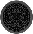 rug #1285667 | round black borders rug