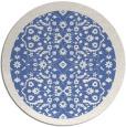 rug #1285707 | round blue borders rug