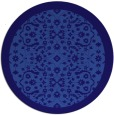 rug #1285759 | round blue-violet rug