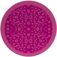 rug #1285887 | round pink traditional rug