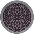 rug #1285915 | round purple traditional rug