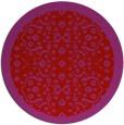 rug #1285931 | round pink borders rug