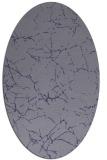 rug #1286851   oval blue-violet abstract rug