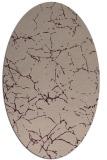 rug #1286931   oval pink abstract rug