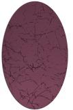 rug #1286933 | oval abstract rug