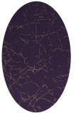 rug #1287015   oval purple natural rug