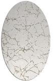rug #1287079   oval white abstract rug
