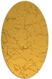 rug #1287095 | oval yellow natural rug