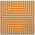 rug #1288235 | square orange stripes rug